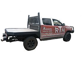 1 TON FLATBED Randburg Truck & Crane Hire